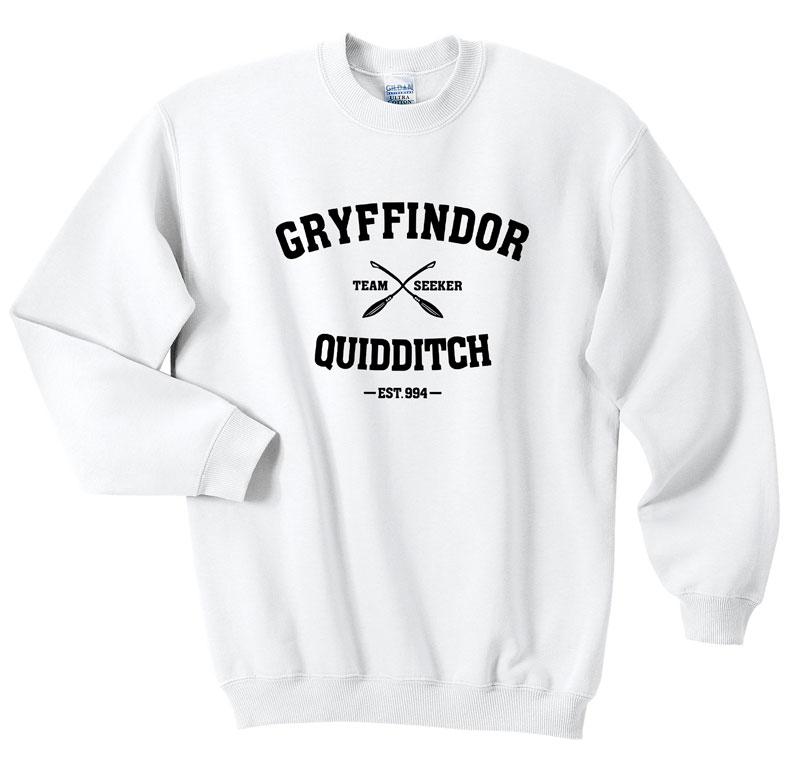 dfc3ef99e Gryffindor Quidditch Team Seeker Sweatshirts - Sweater | FANSSHIRT