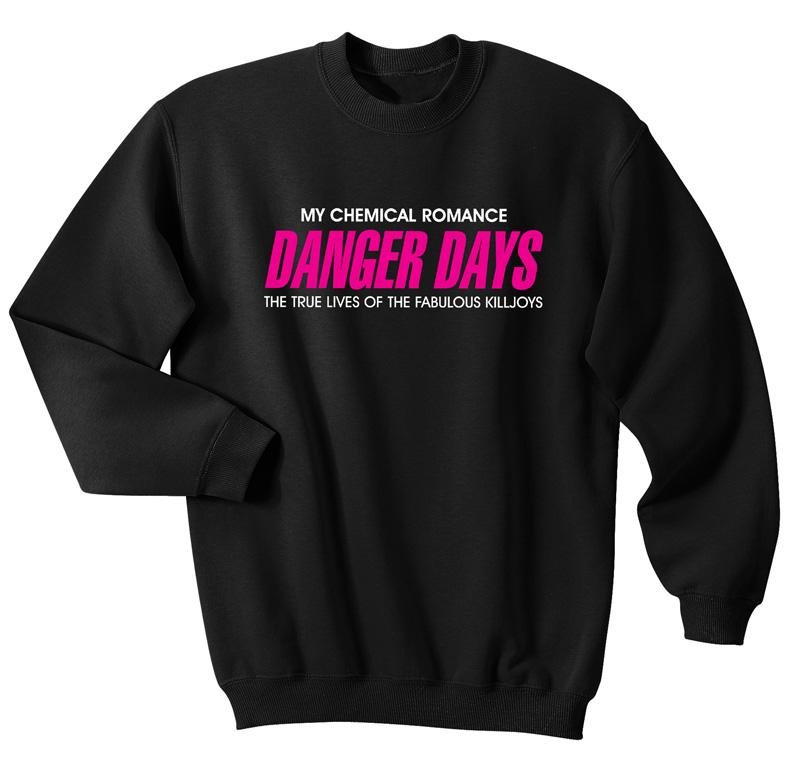My Chemical Romance Danger Days Sweatshirts Sweater Fansshirt